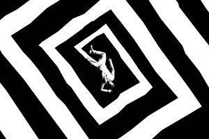 vertigo optical illusion abstract movie poster alfred hitchcock