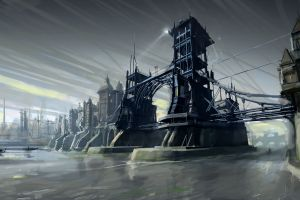 video games artwork dishonored