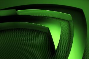 video games computer logo nvidia green