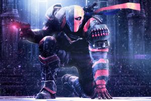 video games deathstroke batman: arkham origins