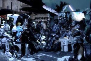video games digital art artwork mass effect dead space