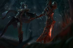 video games dota 2 fantasy art fantasy girl phantom assassin