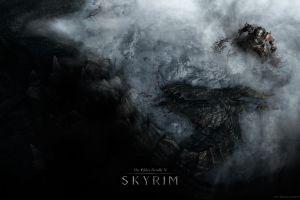 video games dragon bethesda softworks dovakhiin the elder scrolls v: skyrim blood