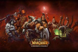 video games durotan ner'zhul pc gaming blackhand world of warcraft: warlords of draenor pc gaming grommash hellscream kargath world of warcraft fantasy art kilrogg deadeye gul'dan