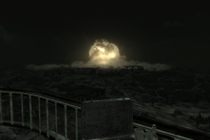video games explosion night fallout 3 fallout