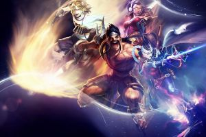 video games ezreal league of legends draven vayne (league of legends)