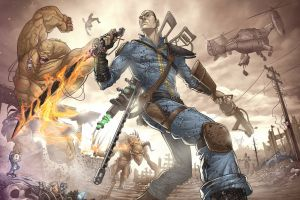 video games fallout 3 artwork