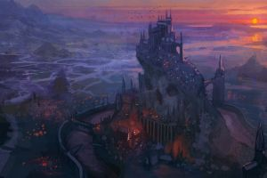 video games fantasy art league of legends