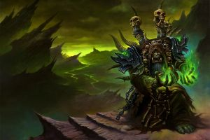 video games fantasy art world of warcraft world of warcraft: warlords of draenor gul'dan
