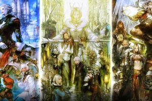 video games final fantasy collage fantasy art