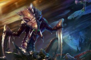 video games hydralisk starcraft starcraft ii zerg