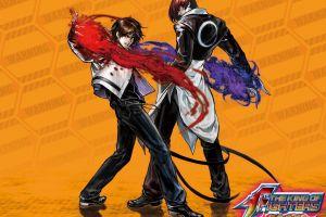 video games iori yagami king of fighters kyo kusanagi