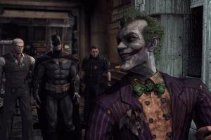 video games jim gordon batman: arkham asylum batman joker rocksteady studios