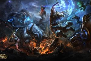video games league of legends fantasy art pc gaming