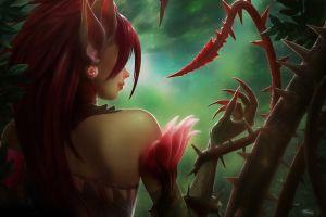 video games league of legends zyra