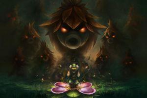 video games link the legend of zelda: majora's mask the legend of zelda