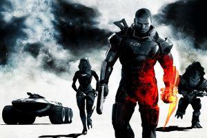 video games mass effect battlefield krogan digital art