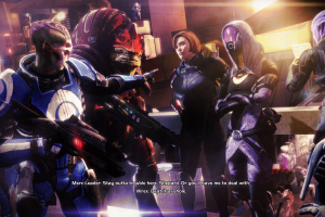 video games mass effect video game characters render