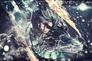 video games metal gear rising: revengeance raiden