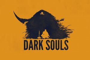 video games minimalism dark souls