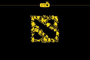 video games minimalism simple background dota 2