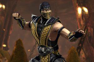 video games mortal kombat scorpion (character)