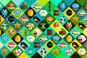 video games nintendo mario bros. super mario