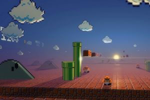 video games nintendo super mario digital art retro games