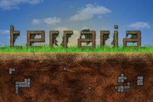 video games pc gaming terraria video game art