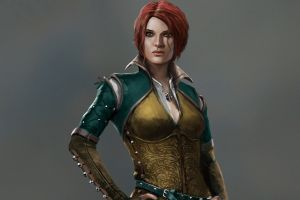 video games sorceress triss merigold the witcher the witcher 3: wild hunt