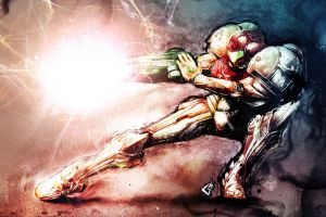 video games super metroid metroid samus aran