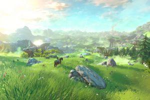 video games the legend of zelda link the legend of zelda: breath of the wild