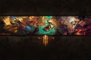 video games video game art diablo iii pc gaming
