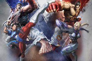 video games video game warriors artwork tekken street fighter video game art