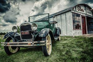 vintage car oldtimer ford vehicle