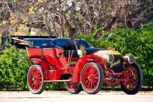 vintage car oldtimer vehicle red cars