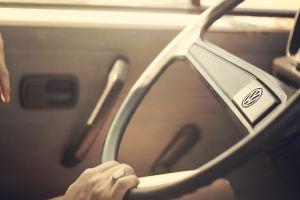 volkswagen car interior steering wheel hands car classic car