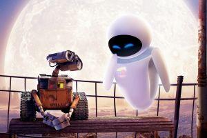 wall·e wall-e disney pixar eva moon disney robot
