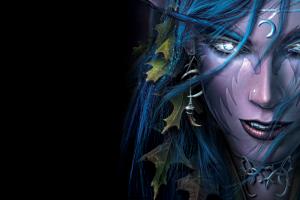 warcraft iii night elves people video games