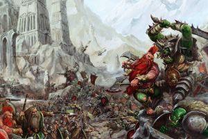 warhammer battle orcs war