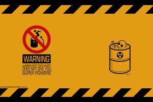 warning signs humor dark humor radioactive
