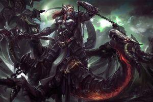 warrior elves fantasy art artwork concept art women dragon