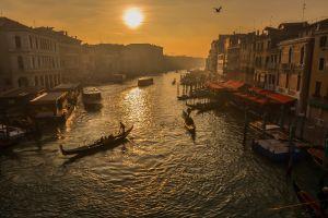 water cityscape boat venice