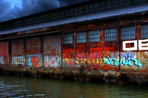 water graffiti building urban