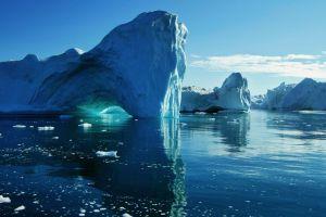 water iceberg arctic nature ice