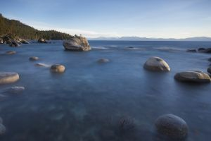 water landscape nature stones