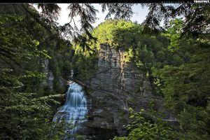 water landscape nature waterfall