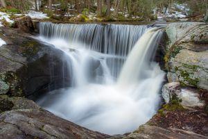 water landscape waterfall nature