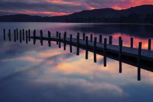 water nature pier landscape