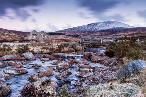 water ruin landscape wilderness mountains nature